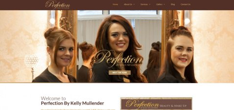 Perfection By Kelly Mullender Website Launch!! 2